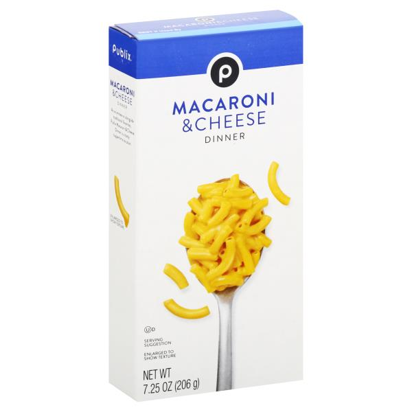 Publix Macaroni & Cheese Dinner
