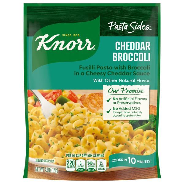Knorr Pasta Sides Spiral Pasta Cheddar Broccoli Publix Com