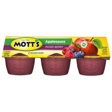 Motts Applesauce, Mixed Berry