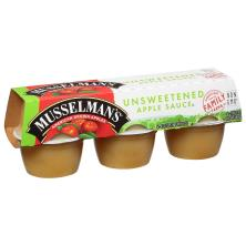 Musselmans Apple Sauce, Unsweetened