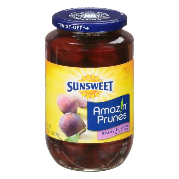Sunsweet Prunes, with Pits, Ready to Serve