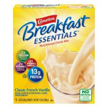 Carnation Breakfast Essentials Complete Nutritional Drink, Classic French Vanilla