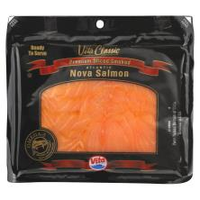 Vita Classic Salmon, Atlantic Nova, Sliced Smoked, Premium