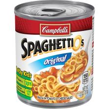 SpaghettiOs Pasta, in Tomato & Cheese Sauce, Original