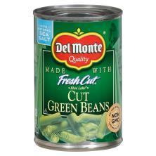 Del Monte Fresh Cut Green Beans, Blue Lake, Cut