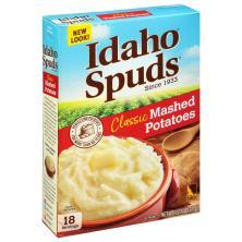 Idaho Spuds Mashed Potatoes, Classic