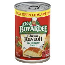 Chef Boyardee Ravioli, Cheese