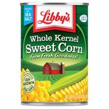 Libbys Corn, Sweet, Whole Kernel