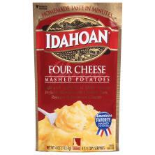 Idahoan Mashed Potatoes, Four Cheese