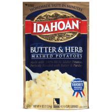 Idahoan Mashed Potatoes, Butter & Herb