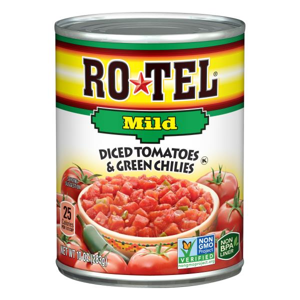 Rotel Diced Tomatoes & Green Chilies, Mild