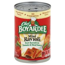 Chef Boyardee Ravioli, Mini