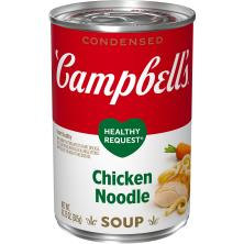 Campbells Healthy Request Soup, Condensed, Chicken Noodle