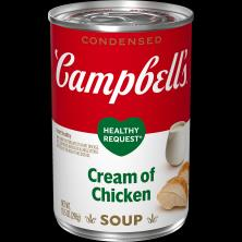 Campbells Healthy Request Soup, Condensed, Cream of Chicken
