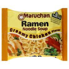 Maruchan Ramen Noodle Soup, Creamy Chicken Flavor