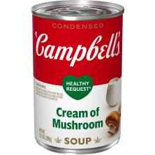 Campbells Healthy Request Soup, Condensed, Cream of Mushroom