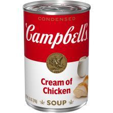 Campbells Soup, Condensed, Cream of Chicken