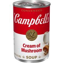 Campbells Soup, Condensed, Cream of Mushroom
