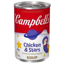 Campbells Soup, Condensed, Chicken & Stars, Classic Recipe