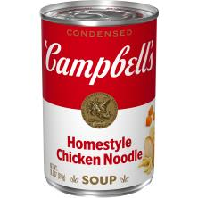 Campbells Soup, Condensed, Chicken Noodle, Homestyle