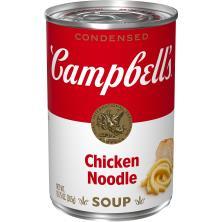 Campbells Soup, Condensed, Chicken Noodle