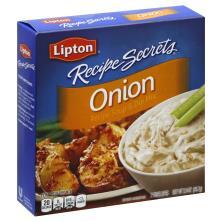 Lipton Recipe Secrets Recipe Soup & Dip Mix, Onion