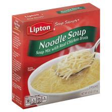 Lipton Soup Secrets Soup Mix, Noodle Soup