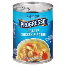 Progresso Traditional Soup, Hearty Chicken & Rotini
