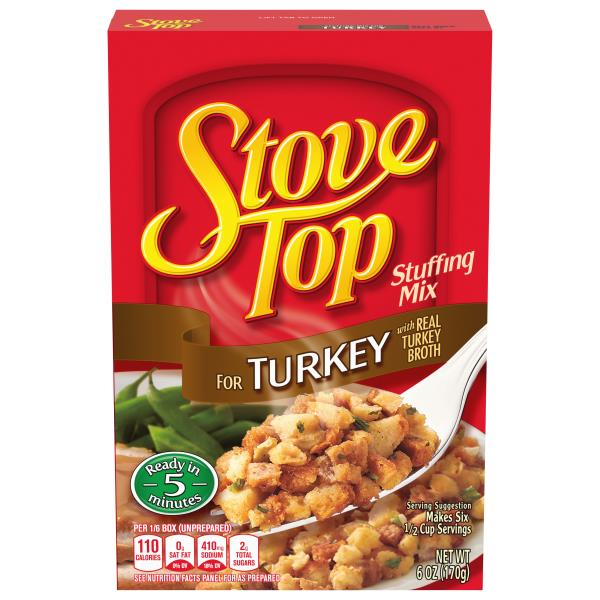 Stove Top Stuffing Mix, for Turkey