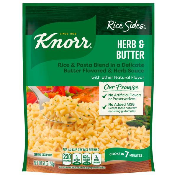 Knorr Rice Sides Herb Amp Butter Publix Com