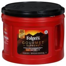 Folgers Coffee, Ground, Dark, Gourmet Supreme