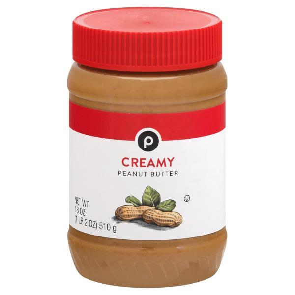 Publix Peanut Butter, Creamy