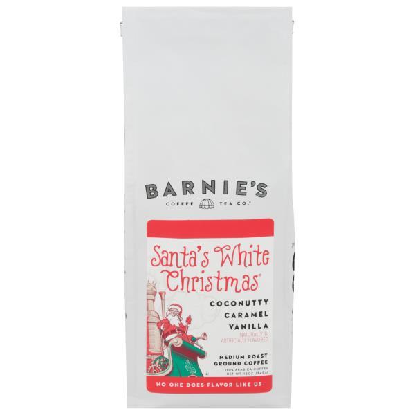 barnies coffeekitchen coffee ground medium roast santas white christmas