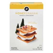 Publix Snack Crackers, Honey Graham