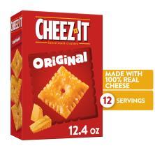 Cheez It Baked Snack Crackers, Original