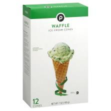 Publix Ice Cream Cones, Waffle