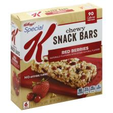 Special K Snack Bars, Chewy, Red Berries