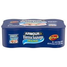 Armour Vienna Sausage, Original, 6 Pack