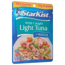 StarKist Tuna, in Water, Chunk Light