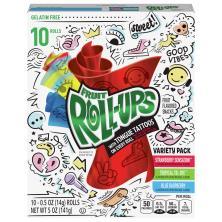 Fruit Roll Ups Fruit Flavored Snacks, Variety Pack