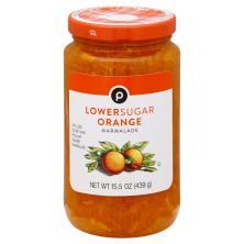 Publix Marmalade, Low Sugar, Orange