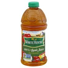 White House 100% Apple Juice, from Concentrate