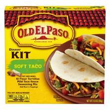 Old El Paso Dinner Kit, Soft Taco