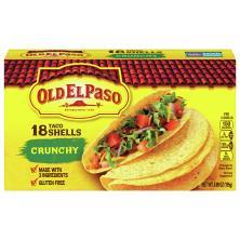 Old El Paso Taco Shells, Crunchy