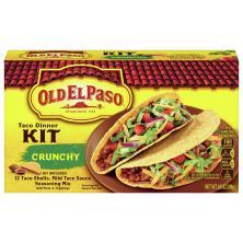 Old El Paso Taco Dinner Kit, Crunchy