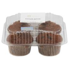 Raisin Bran Muffins 4-Count