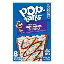 Pop Tarts Toaster Pastries, Frosted Hot Fudge Sundae