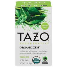 Tazo Green Tea, Zen, Filterbags