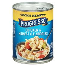 Progresso Rich & Hearty Soup, Chicken & Homestyle Noodles