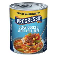 Progresso Rich & Hearty Soup, Slow Cooked Vegetable Beef
